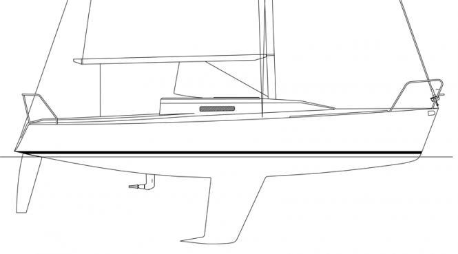 J/92 Profile Drawing